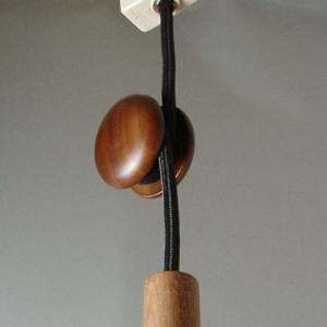 コードリール 木製 照明器具 和風 和室 和モダン 北欧 テイスト カフェ おしゃれ かわいいコードハンガー エスカルゴ PH-0300
