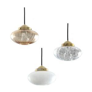 ペンダントライト ガラス 1灯 みかんヒビ シーリングライト 和風 天井照明 レトロ 大正 アンティーク 照明器具 和室