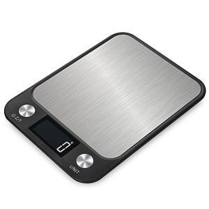 Disenkelubo はかり 電子 はかり デジタルスケール 10kg/1g 風袋機能、デジタル台はかり はかり 料理 デジタルクッキングスケール molto-bene