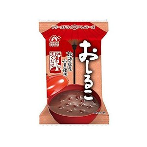【アマノフーズのフリーズドライ】おしるこ 10袋 (北海道産小豆を使用)|molto-bene