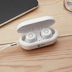 ワイヤレスイヤホン Bluetooth 5.0に対応完全 Twi n Sounds MTW-BT5 (ホワイト)|molto-bene