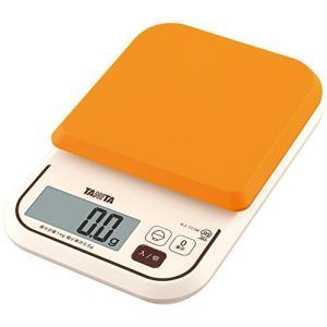 タニタ はかり スケール 料理 カロリー 1kg 0.5g オレンジ KJ-111M OR ごはんのカロリーがはかれる molto-bene