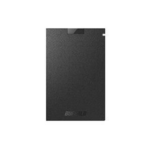 バッファロー SSD-PG240U3-BA USB3.1(Gen1) ポータブルSSD 240GB ブラック molto-bene