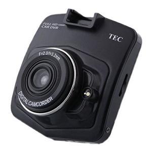 TECDVRFHD-001 テック 2.4型大画面液晶搭載 1080P(FHD)広画角140° ドライブレコーダー|molto-bene