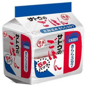サトウのごはん 北海道産きらら397 200g 5食パック×8個|molto-bene