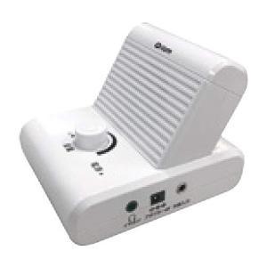 有線 手元スピーカー ボリュームダイヤル搭載 5m YTS-30 ホワイト|molto-bene