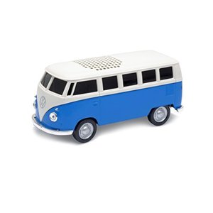 Autodrive(オートドライブ) Bluetooth Speaker(ブルートゥーススピーカー) VW Bus(フォルクスワーゲンバス) ブルー|molto-bene