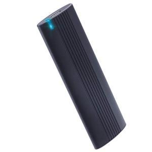 エレコム 外付けSSD ポータブル USB3.2(Gen2)対応 Type-C 500GB PS4(メーカー動作確認済) ブラック ESD-EH050 molto-bene