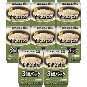 マルちゃん 玄米ごはん3食パック 480g×8個|molto-bene