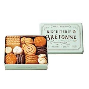 ビスキュイテリエ ブルトンヌ ブルターニュ クッキーアソルティ 1缶(46個入) クッキー ギフト 贈り物 ご進物 molto-bene