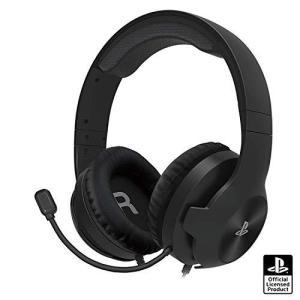 【PS5動作確認済】ホリゲーミングヘッドセット スタンダード for PlayStationR4 ブラック【SONYライセンス商品】|molto-bene