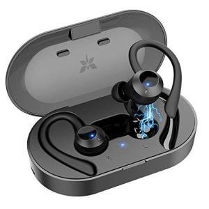 【2021進化版 Bluetooth イヤホン】完全 ワイヤレス イヤホン bluetooth 耳かけ スポーツ ランニング ブルートゥース イヤホン|molto-bene