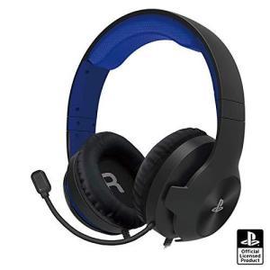 【PS5動作確認済】ホリゲーミングヘッドセット スタンダード for PlayStationR4 ブルー【SONYライセンス商品】|molto-bene