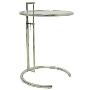 ★E1027サイドテーブルは、アイリーン・グレイが美しさと使いやすさを両立させたデザイナーズインテリ...
