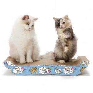 SPORT PET バリバリ ベットL(猫柄)|momo-tail