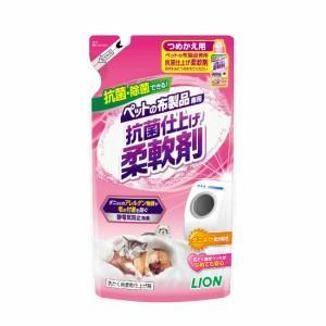 LION ペットの布製品専用 抗菌仕上げ柔軟剤 つめかえ用 300g|momo-tail
