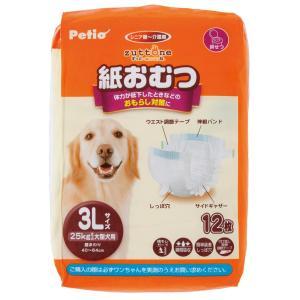 ペティオ ずっとね 老犬介護用 紙おむつ 3L  12枚|momo-tail