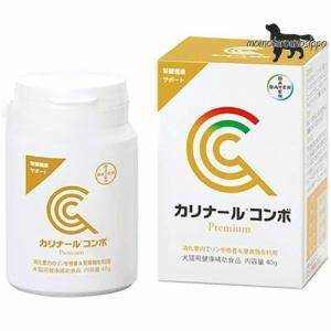 カリナール コンボ 40g パウダータイプ バイエル薬品  犬猫用 栄養補助食品 腎臓 送料無料|momo-tail