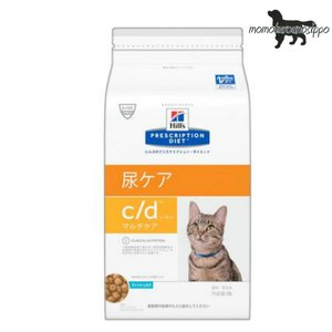 ヒルズ プリスクリプション・ダイエット 猫用 c/d  マルチケア フィッシュ入り ドライ 500g|momo-tail