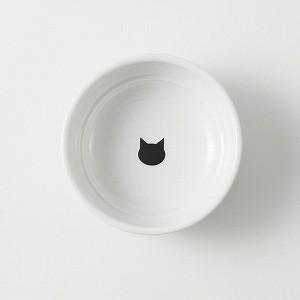 猫壱 ハッピーダイニング フードボウル 水玉 猫用 食器|momo-tail|05