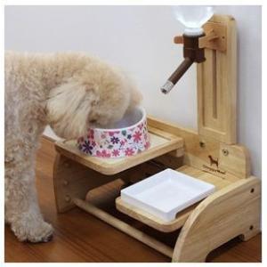 ドギーマン ウッディーコンパクトダイナー 犬猫用|momo-tail