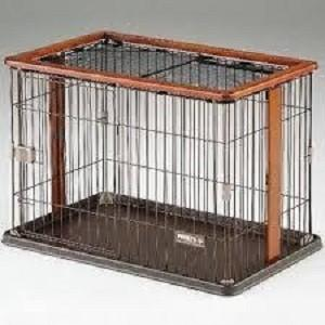 ボンビアルコン ウッドワンサークル ブラウン 犬用サークル ケージ 期間限定 送料無料 momo-tail