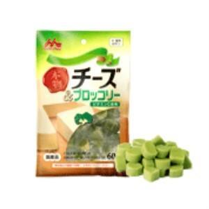 森乳サンワールド 本物チーズ&ブロッコリー(国産品) 60g×12|momo-tail