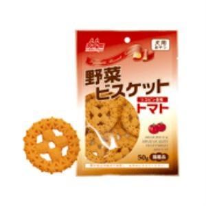 森乳サンワールド 野菜ビスケット トマト (国産品)50g×24|momo-tail