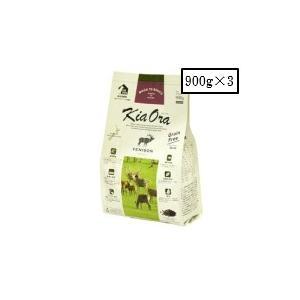 レッドハート    キアオラ ドッグフード ベニソン 900g×3