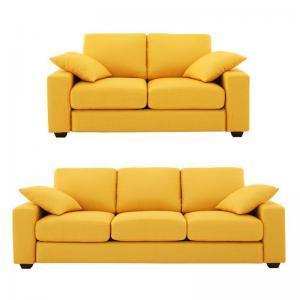 カバーリングソファ 20色から選べる LeJOY リジョイシリーズ ワイドタイプ  Dセット 2人掛け+3.5人掛け momoda