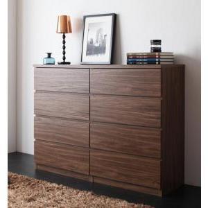 シンプルモダンリビングシリーズ nux ヌクス Aセット チェスト×2個 momoda