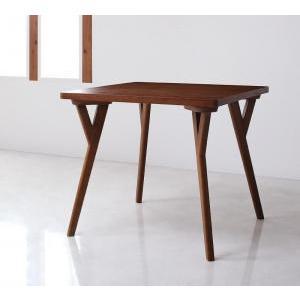 北欧モダンデザインダイニング VILLON ヴィヨン テーブル(W80)|momoda