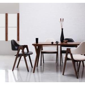 北欧モダンデザインダイニング VILLON ヴィヨン 5点セット(テーブルW140+チェア×4)  代引き不可|momoda