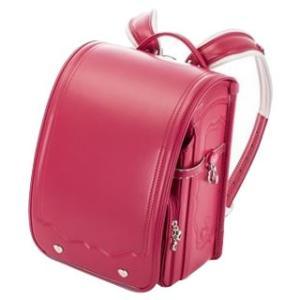 協和 ふわりぃ(R) ランドセル A4フラットファイル対応 女の子用 2018年度モデル Vピンク×Vピンク・03-24638|momoda
