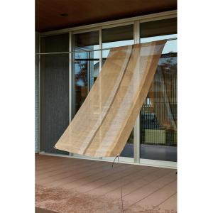 サンシェード ストライプはとめタイプ 挿し竿対応 約88×180cm 350104851|momoda