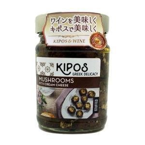 キポス グリルドマッシュルーム クリームチーズ入り 230g×6個 代引き不可|momoda