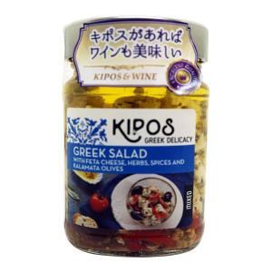 キポス フェタチーズオイル漬け オリーブ、レッドペッパー入り 230g×6個 代引き不可|momoda