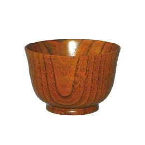 0F22-6 丸十 木製 食洗機対応 羽反小汁椀 目摺り 4個セット|momoda