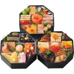 おせち料理 五万石千里山荘 八角三段重 6616-525|momoda