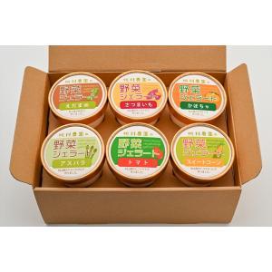 桃川農園の野菜ジェラート(季節のおまかせ)6個セット|momokawanouen-store
