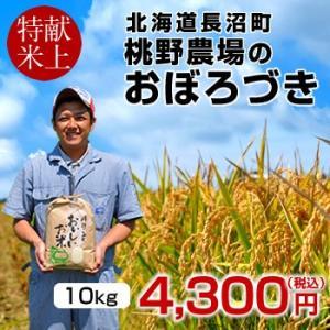 おぼろづき 10kg(5kg×2袋)新米 令和2年産 2020 北海道米 特A 皇室献上米 生産者 ...