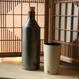 常滑焼 陶ボトル お水や焼酎がまろやかに 陶器 焼酎サーバー 水ボトル ギフト momonozakkaten
