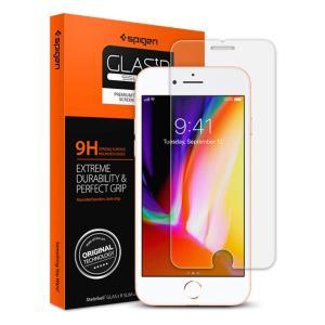 【Spigen】 スマホ ガラスフィルム iPhone8 Plus / iPhone7 Plus 対...