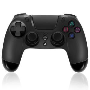 FONLAM ゲームパッド PS4 コントローラー 無線 ゲームコントローラー PS4 ブルートゥー...