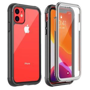 iPhone 11 ケース 6.1インチ 耐衝撃ケース 全面...