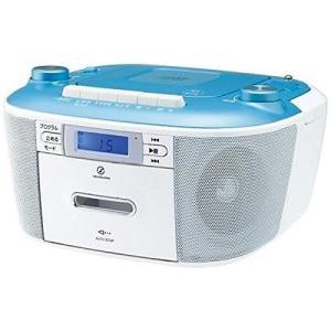コイズミ ラジカセ SAD-4935/A [ブルー]の関連商品5