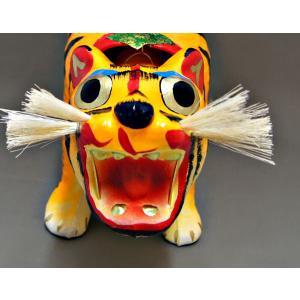 張り子の虎 1号 岡山 伝統工芸品 桐箱収納付|momotarouichibat