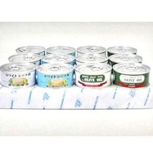由比缶詰所 4種のツナ12缶 詰め合わせセット