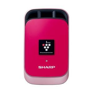 SHARP 車載用イオン発生機 IG-KC1-P プラズマクラスター25000 カーエアコン取り付けタイプ 車 デスクトップなどに ピンク系 フランボワーズピンク シャープ|mon-etoile