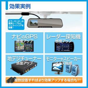 MAXWIN ノイズフィルター フェライトコア 対応ケーブル径5mm/6mm 同サイズ2個セット ノ...